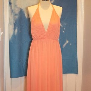 High Low Halter Dress